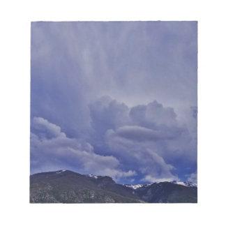 Kruipende Wolken 1 Notitieblok