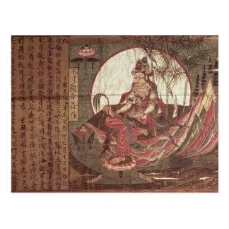 Kuan -kuan-yin Godin van Medeleven Wenskaart