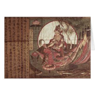 Kuan -kuan-yin, Godin van Medeleven Kaart