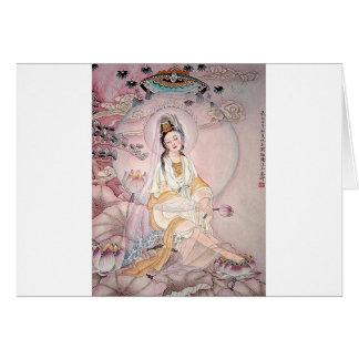 Kuan Yin; Boeddhistische Godin van Medeleven Wenskaart
