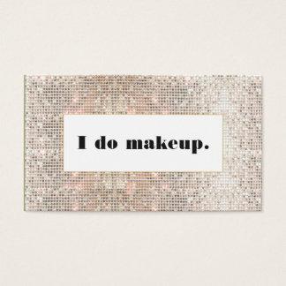Kunstenaar van de Make-up van de Typografie van Visitekaartjes