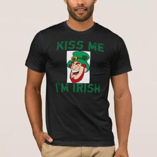 Kus Im Ierse Gelukkige St Patrick Day t-shirt
