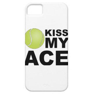 Kus mijn Aas! iPhone 5 van het tennis Dekking Case-Mate iPhone 5 Hoesje