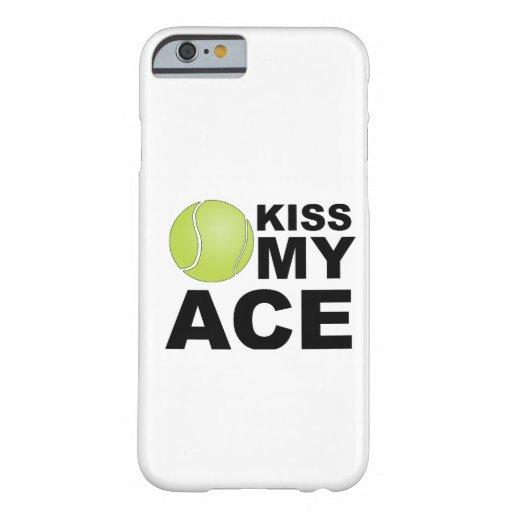 Kus mijn Aas! iPhone 6 van het tennis geval Barely There iPhone 6 Case