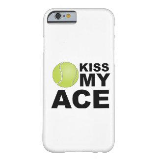 Kus mijn Aas! iPhone 6 van het tennis hoesje Barely There iPhone 6 Hoesje