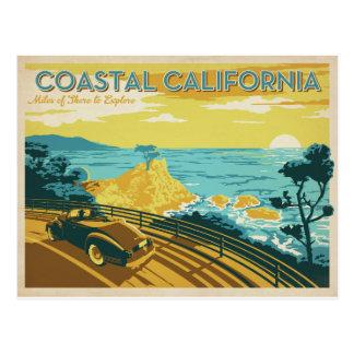 Kust Californië Briefkaart