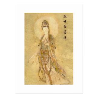 Kwan Yin de Godin van Medeleven Briefkaart