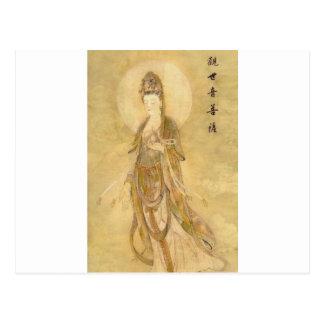 Kwan Yin de Godin van Medeleven Wens Kaart