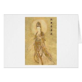 Kwan Yin de Godin van Medeleven Wenskaart
