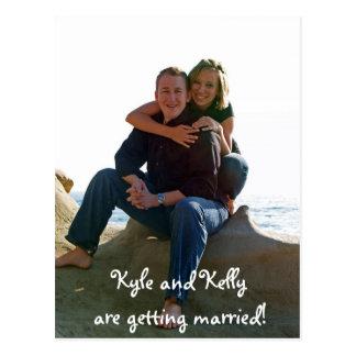 Kyle et Kelly se marient ! Cartes Postales