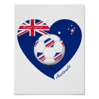 L'« AUSTRALIE » Soccer Team. Football de