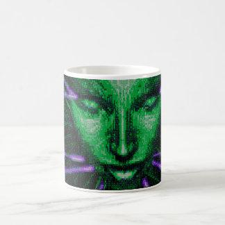 L-regard à vous, buveur de café… mug magic