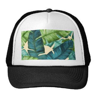 La banane tropicale part du motif original casquettes