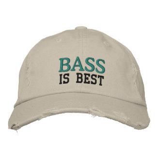 La basse est le meilleur casquette de musique
