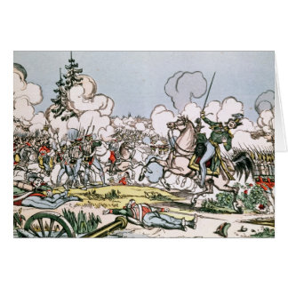 La bataille de Moscou, le 7 septembre 1812 Carte