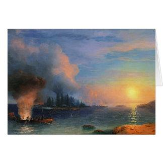La bataille du paysage marin de Bomarsund Ivan Carte