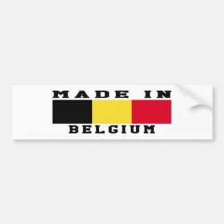 La Belgique a fait dans les conceptions Autocollant De Voiture