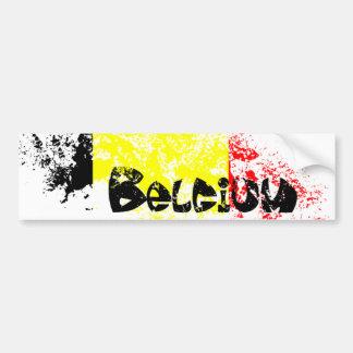 La Belgique Autocollant De Voiture