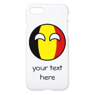 La Belgique Geeky tendante drôle Countryball Coque iPhone 7