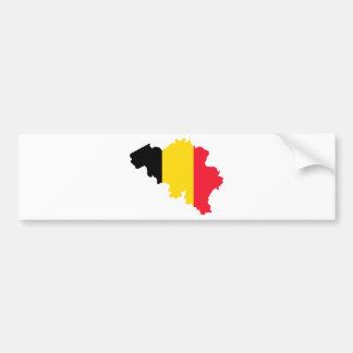 La Belgique SOIT Autocollant De Voiture