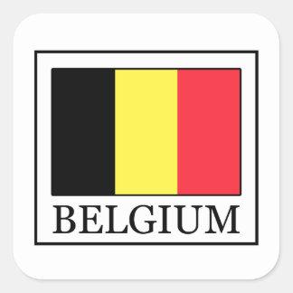 La Belgique Sticker Carré