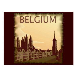 La Belgique vintage Cartes Postales