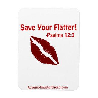La bible cite Agrainofmustardseed.com Magnet Flexible