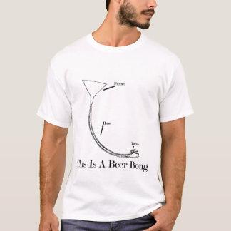 La bière Bong le T-shirt