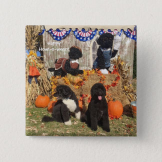 La BO et le Halloween ensoleillé - Pin Badge Carré 5 Cm