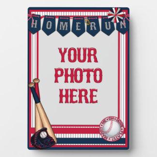 la Cadre-Maison de carte de base-ball 5x7 Photos Sur Plaques