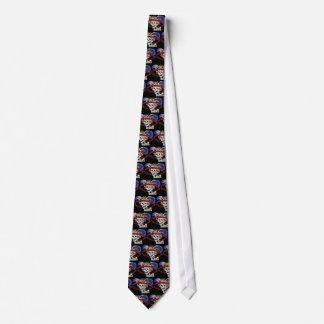La Calavera Catrina en couleurs Cravate