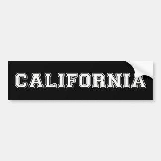 La Californie Autocollant De Voiture
