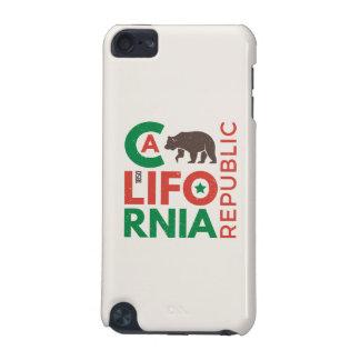 La Californie avec le logo d'ours gris Coque iPod Touch 5G