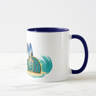 La Californie personnalisable surfant Mug