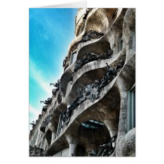 La Carriére d'Antoni Gaudí Carte