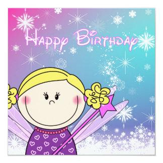 la carte d'anniversaire filles princesse