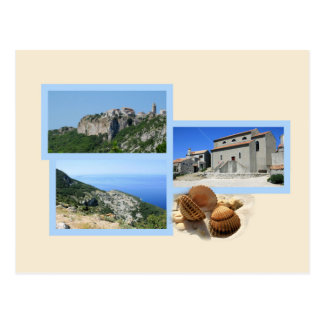 la carte de lettre pour Lubenice, Cres, la Croatie
