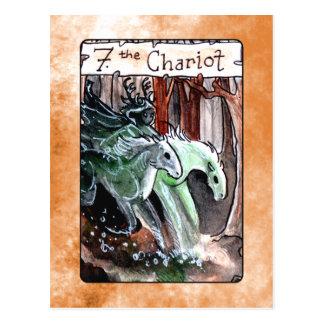 La carte de tarot de char