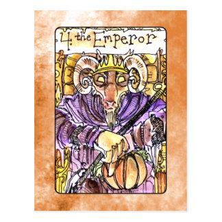 La carte de tarot d'empereur