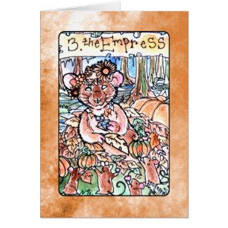 La carte de tarot d'impératrice
