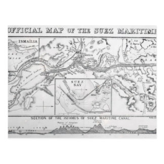 La carte officielle de Wyld du canal maritime de