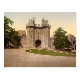 La carte postale de château de Lancaster de