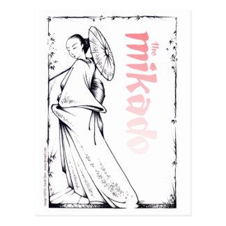 La carte postale de Mikado