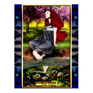 La carte postale d'imbécile de tarot de Banx