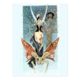 La carte postale sentimentale d'initiation