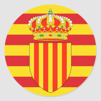 La Catalogne Sticker Rond