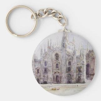 La cathédrale de Milan par Vasily Surikov Porte-clés