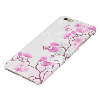 La cerise fleurit la caisse plus de l'iPhone 6