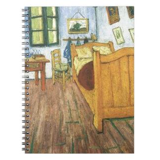 La chambre à coucher de Van Gogh dans Arles Carnet À Spirale