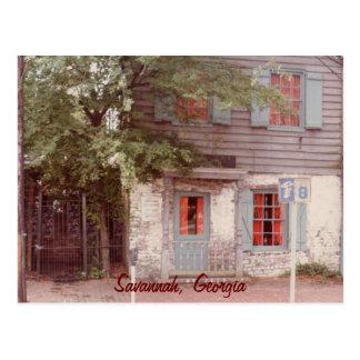 La Chambre la plus ancienne, la savane, la Géorgie Carte Postale